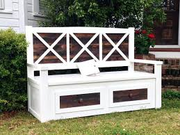 outside bench with storage porch bench outdoor bench storage bench