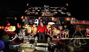 When The Lights Go On Families In Britain Spend 1000s Covering Their Homes In Lights And