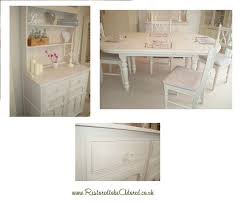 shabby chic dining tables and chairs home interior inspiration