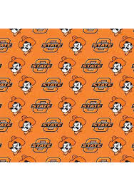 notre dame wrapping paper oklahoma state cowboys orange mascot wrapping paper 1569049