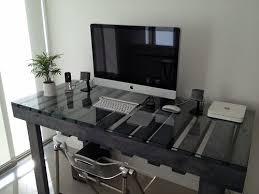 bureau palette bois más ideas de muebles hechos con palets palettes en bois palette
