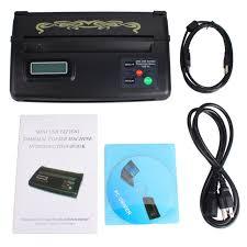 tattoo thermal printer reviews mini usb tattoo stencil maker transfer copier machine tmart