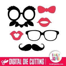 photo booth prop photobooth prop accessories 1 totallyjamie svg cut files
