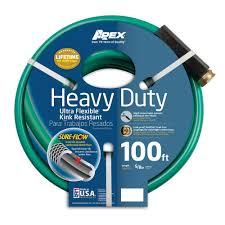 apex 5 8 in dia x 100 ft heavy duty garden hose 8509 100 the