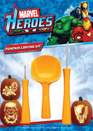 Pumpkin Carving Kits Marvel Superheroes Pumpkin Carving Kit U2013 Pumpkin Carving Kits