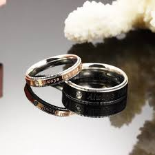 womens gold wedding bands engraved black and gold wedding bands for men and women