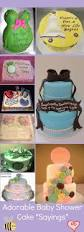 the 25 best baby shower cake sayings ideas on pinterest baby