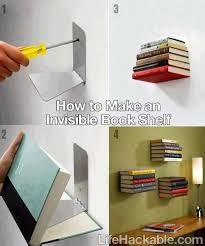 Bookshelves Diy by Top 25 Best Invisible Bookshelf Ideas On Pinterest Shelves How