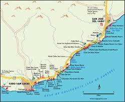 map cabo mexico cabo san lucas corridor map