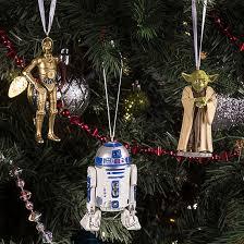star wars christmas tree decorations thinkgeek retro