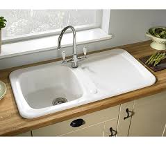 inset kitchen sink astracast aquitaine 1 0 bowl ceramic gloss white inset kitchen sink