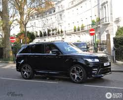 silver range rover 2016 land rover overfinch range rover sport autobiography 2014 24