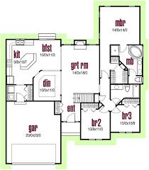 Impressive Design Ideas 1700 Sq Strikingly Idea 13 1700 Square Feet 1 Story House Plans Square