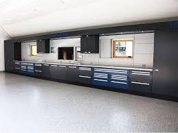 Garage Storage Cabinets Large Black Stainless Steel Garage Storage Cabinet For A Modern