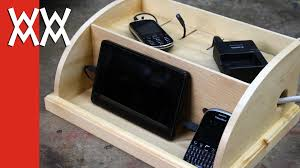 Smartphone Charging Station Device Charging Station Woodworking For Mere Mortals