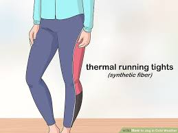 how to jog in cold weather with pictures wikihow