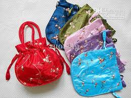 drawstring gift bags large craft christmas bags satin gift bag handle china womens