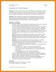 Business Lease Proposal Template 10 Formal Proposal Informal Letter