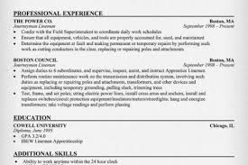 Sample Journeyman Electrician Resume by Electrician Resume Example Construction Sample Resumes