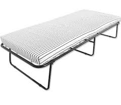 Folding Bed With Mattress Furniture Metal Folding Bed With Mattress Reviews Wayfair