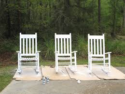 White Rocking Chair Furniture Elegant And Comfortable Outdoor Rocking Chairs For Your