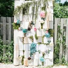 wedding backdrop book rustic wedding backdrops