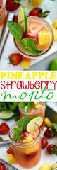 pineapple mojito recipe pineapple strawberry mojito mom on timeout