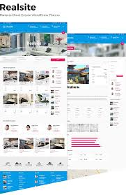 realsite material real estate wordpress theme by aviators