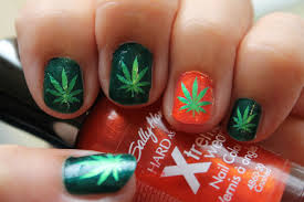 leaf design nails choice image nail art designs