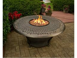 Gas Firepit Tables Charleston Gas Firepit Table Sitting 5 Pc Chat Set Includes