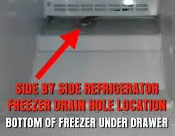 how to repair a freezer dripping water into refrigerator frozen