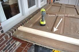 how to build a daybed how to build a daybed from old doors the diy bungalow