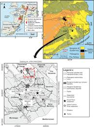 Mexico Volcano Map by Reconstructing The Eruptive History Of A Monogenetic Volcano