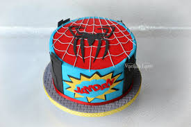 spiderman cake for a spiderman fan i did end up adding a no 8 to