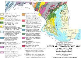 maryland mapa geologic map of maryland 1968 maps charts maryland