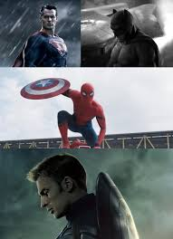 Movie Meme Generator - dc vs marvel superman batman spiderman captain america blank
