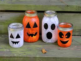Halloween Decoration For Party by Mod Podge Halloween Lanterns Erin Spain