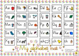 printable alphabet mat reversible alphabet mat sassoon or cursive versions by bevevans22