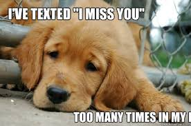 I Miss U Meme - i ve texted i miss you too many times in my life sad face