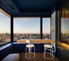 a green kiev apartment provides calm in the city nonagon style