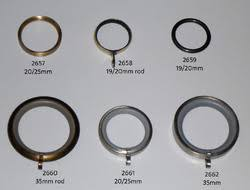 3 Curtain Rings Brass Curtain Hardware Exporter From Moradabad
