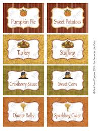 thanksgiving label printables images