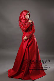 wedding dress maroon stella free shipping gown wedding dress jiamila muslim wedding