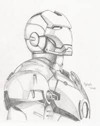 iron man sketch by tyndallsquest deviantart com on deviantart