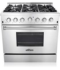 Italian Cooktop Amazon Com 36 In Gas Range With 5 Italian Made Burners Oven