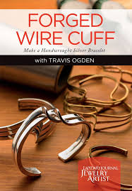 make silver bracelet images Forged wire cuff make a handwrought silver bracelet with travis jpg