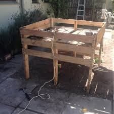 Raised Garden Beds From Pallets - how to make a pallet garden bed 101 pallet projects