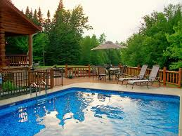 PhenomenalSemiIngroundPoolsdecoratingideasforPool - Great backyard pool designs