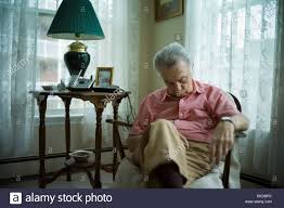 2 Person Armchair Old Man Sleeping Chair Stock Photos U0026 Old Man Sleeping Chair Stock
