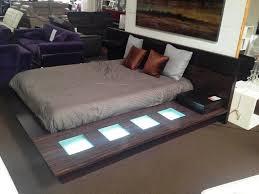 Contemporary Platform Bed Grey Modern Platform Bed The Modern Platform Bed For
